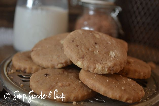 Milo and White Chocolate Biscuits